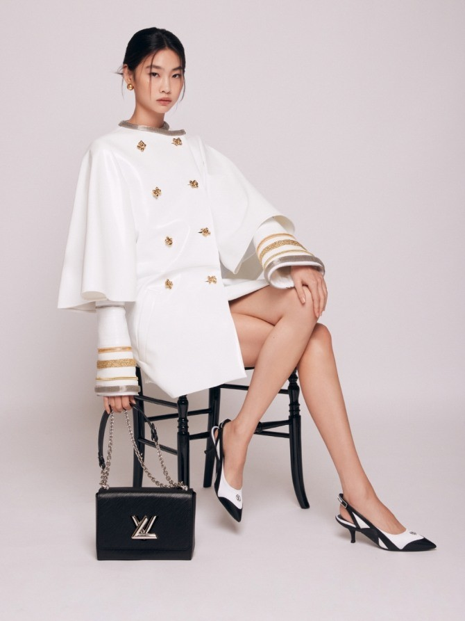 """""""Squid Game"""" Jung Ho Yeon for Louis Vuitton"""